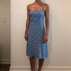 "Reformation Midi ""Peach"" Dress"